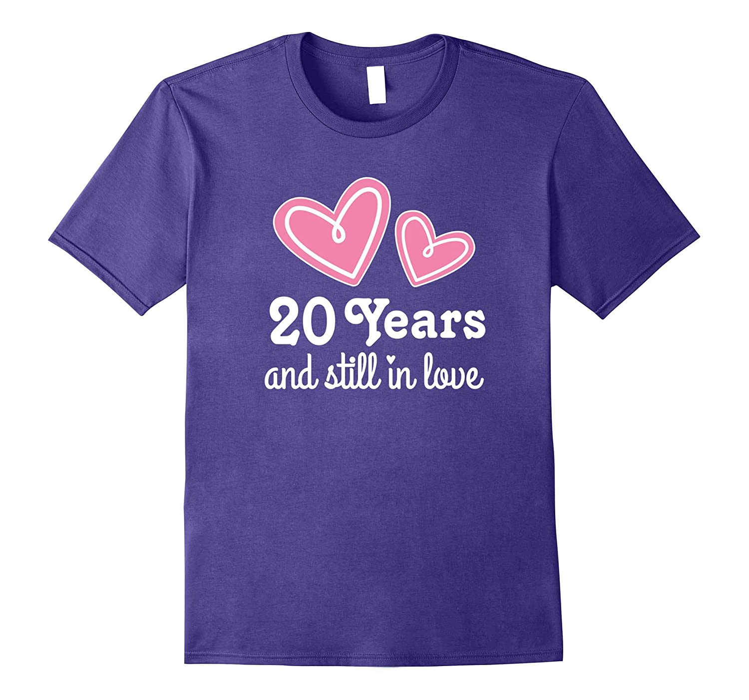 20th Wedding Anniversary Still In Love Couples T-shirt-CD