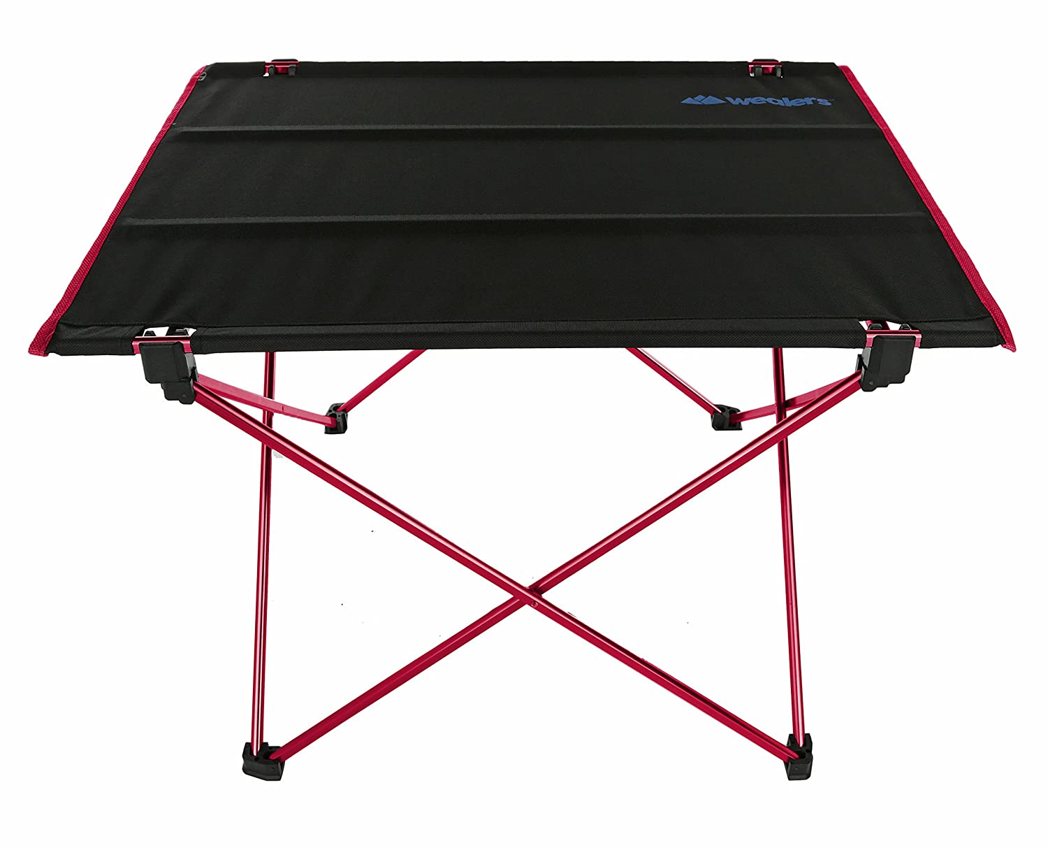 Wealers Portable Folding Picnic Table in a Bag- Collapsible Lightweight Travel Beach Table with Commuter ToteBag for All Outdoor Events BBQ s Camping Fishing Backyard Parties Sporting
