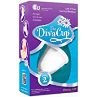 The DivaCup Copa Menstrual Reusable, Modelo 2