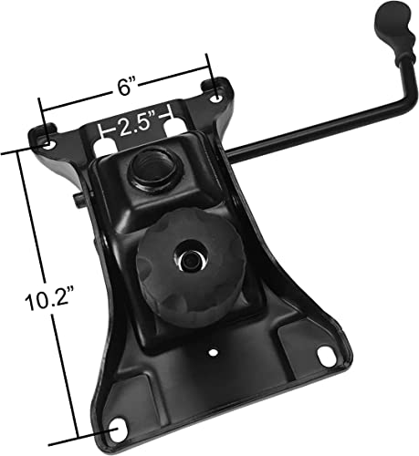 Heavy Duty Replacement Office Chair Swivel Tilt Control Seat Mechanism w/ 6″ x 10.2″ Mounting Hole