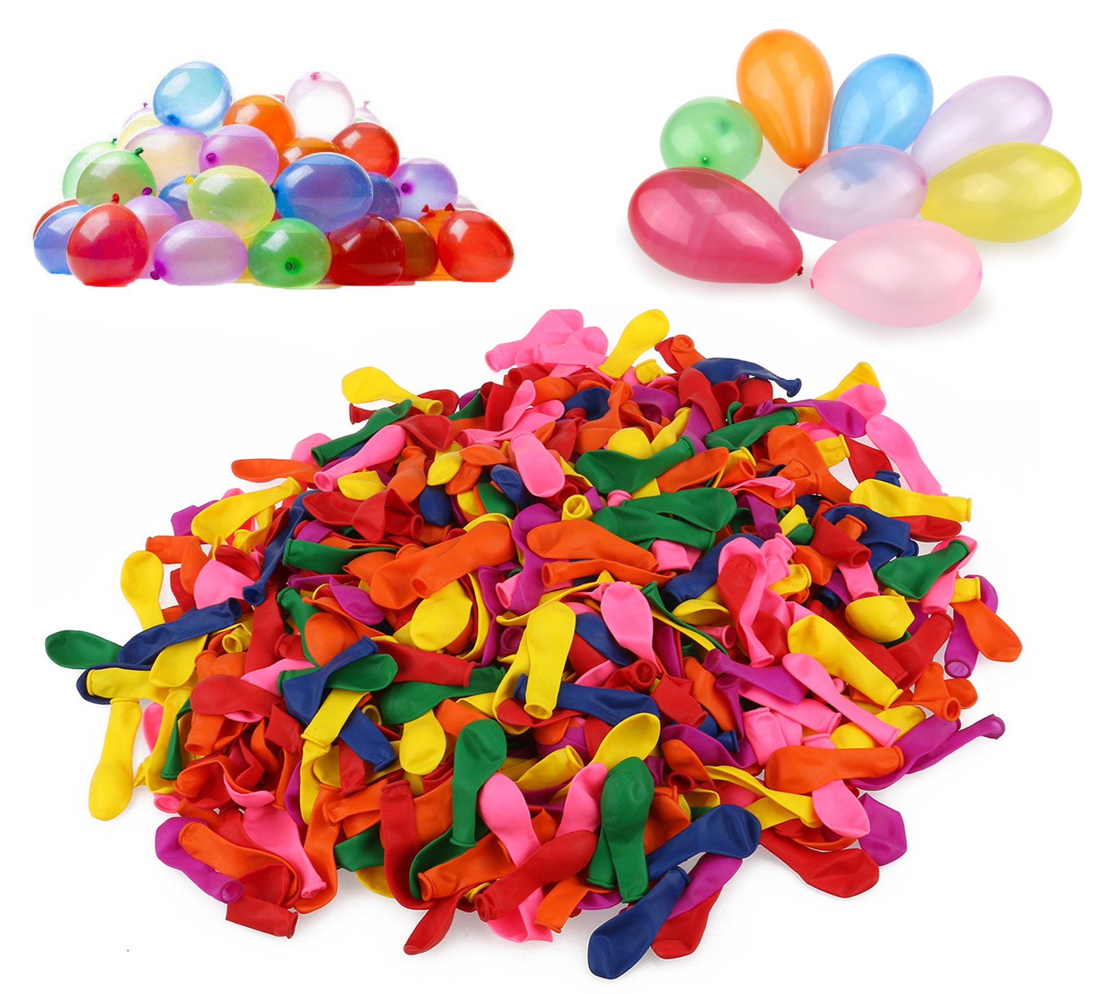 Playoly 2000 Water Balloons Ready to Fill - Fun Spring Colors And Premium Quality Balloon
