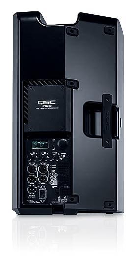 QSC K12.2 Negro Altavoz - Altavoces (De 2 vías, 1.0 Canales, Alámbrico, XLR, 45-20000 Hz, Negro): Amazon.es: Electrónica