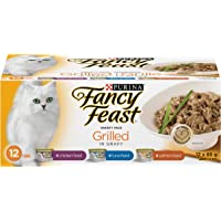 Fancy Feast Wet Cat Food, Grilled Variety Pack 85 g Cans (12 Pack)