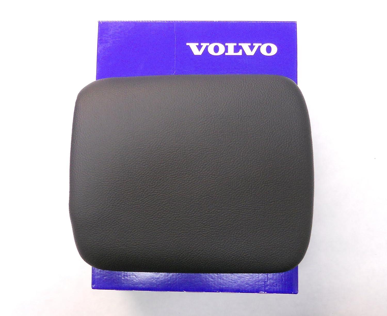 Genuine Volvo 2008-2013 S40 V50 C70 C30 Center Console Black Leather Armrest NEW
