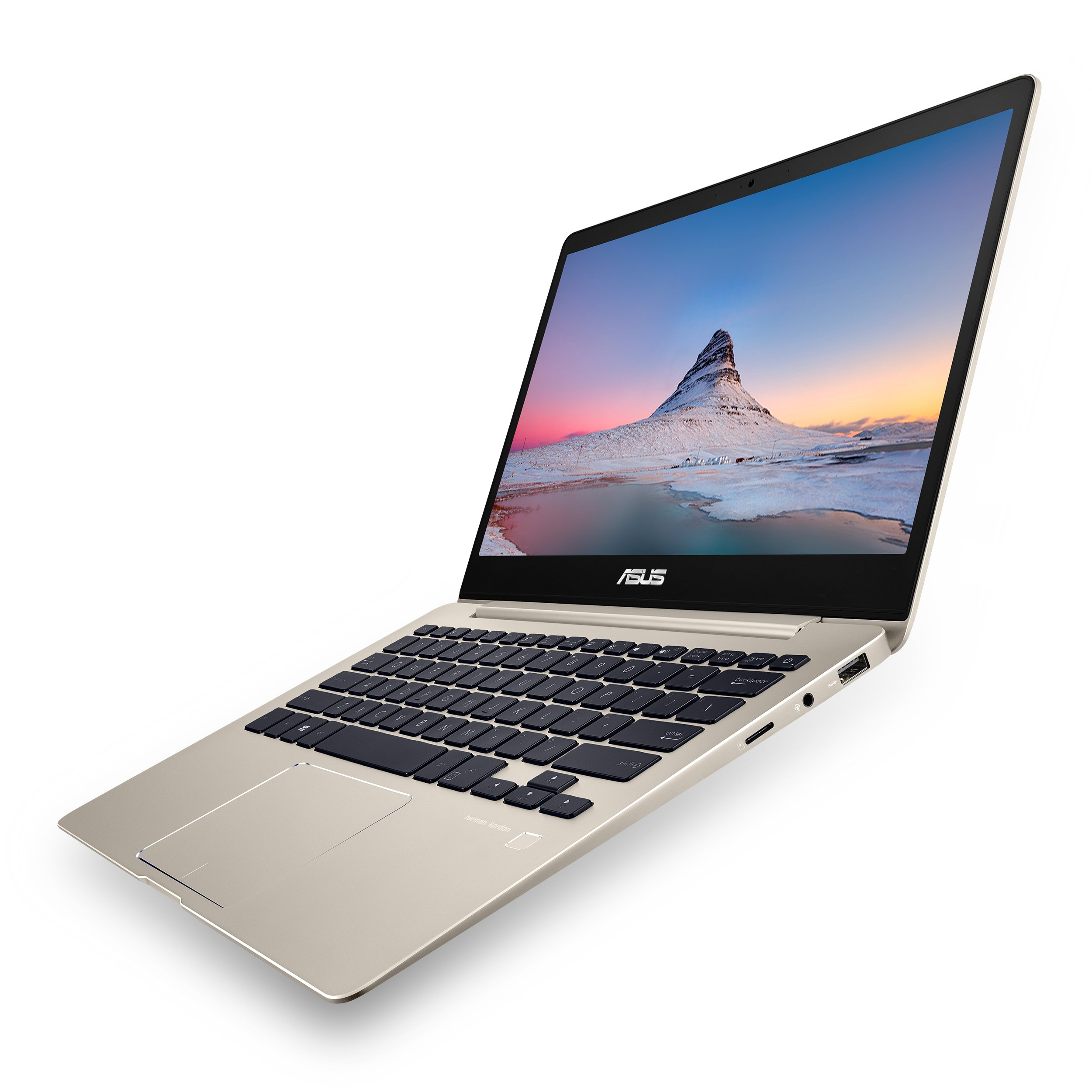 ASUS ZenBook 13 Ultra-Slim Laptop 13.3'' FHD Display, Intel 8th gen Core i5-8250U, 8GB RAM, 256GB M.2 SSD, Win10, Backlit KB, FP, Icicle Gold, UX331UA-AS51 by ASUS (Image #5)