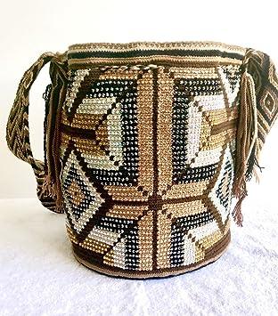 Mochilas Wayuu Tejido a mano Bolsa de hombro multicolor: Amazon.es: Electrónica