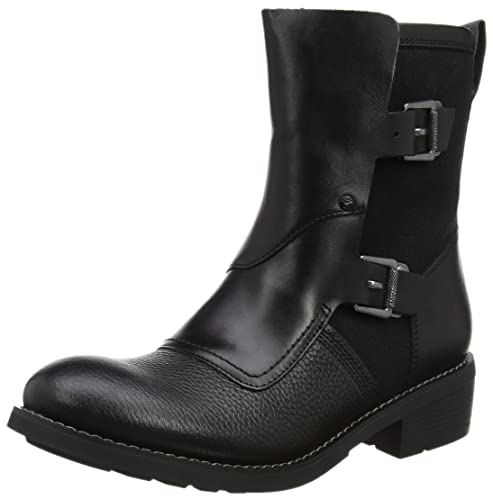 G-Star Raw Labour Buckle, Botas Estilo Motero para Mujer, Negro (Black