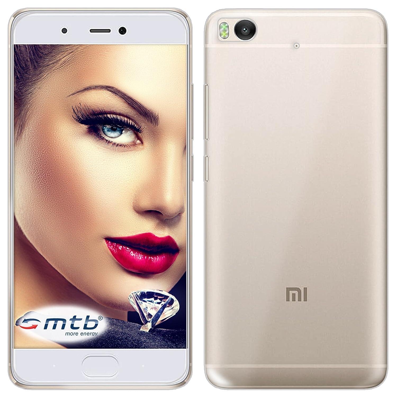 mtb More Energy® Funda Clear & Slim para Xiaomi Mi 5S Mi5S (5.15 ...