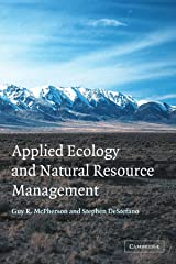 Applied Ecology and Natural Resource Management Paperback