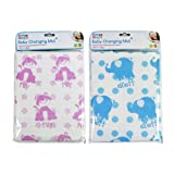 EASY CLEAN BABY CHANGING MAT 2 COLOURS TRAVEL NAPPY CHANGE BOY GIRL