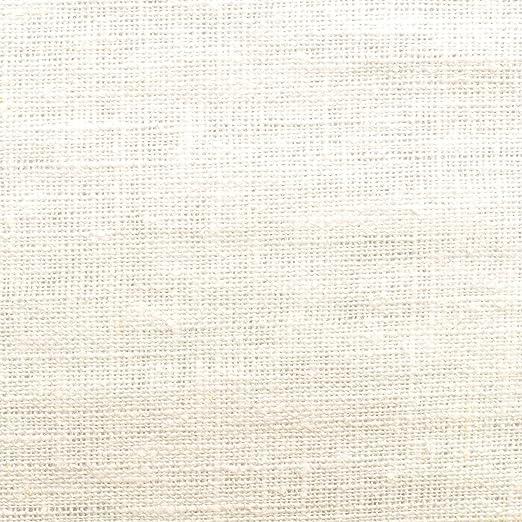 Tela de lino natural - 100% lino puro - Gran textura de lino - 20 ...