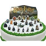 Vorgeschnittene und Essbare Harry Potter Szene Kuchen Topper (Tortenaufleger, Bedruckte Oblaten, Oblatenaufleger)