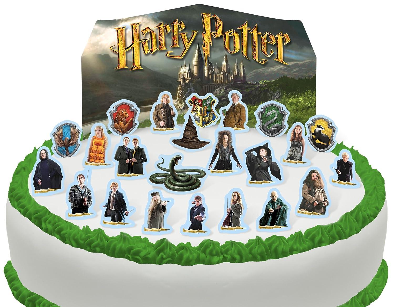 Vorgeschnittene Und Essbare Harry Potter Szene Kuchen Topper