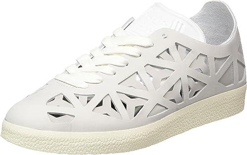 adidas Women's Gazelle Cutout Low-Top Sneakers, White (Footwear ...