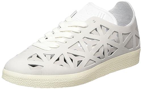 adidas Gazelle Cutout, Zapatillas Para Mujer, Blanco (Footwear White/Footwear White/Cream White), 36 2/3 EU