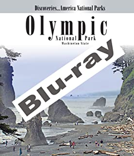 America National Parks Olympic Park Washington State Blu