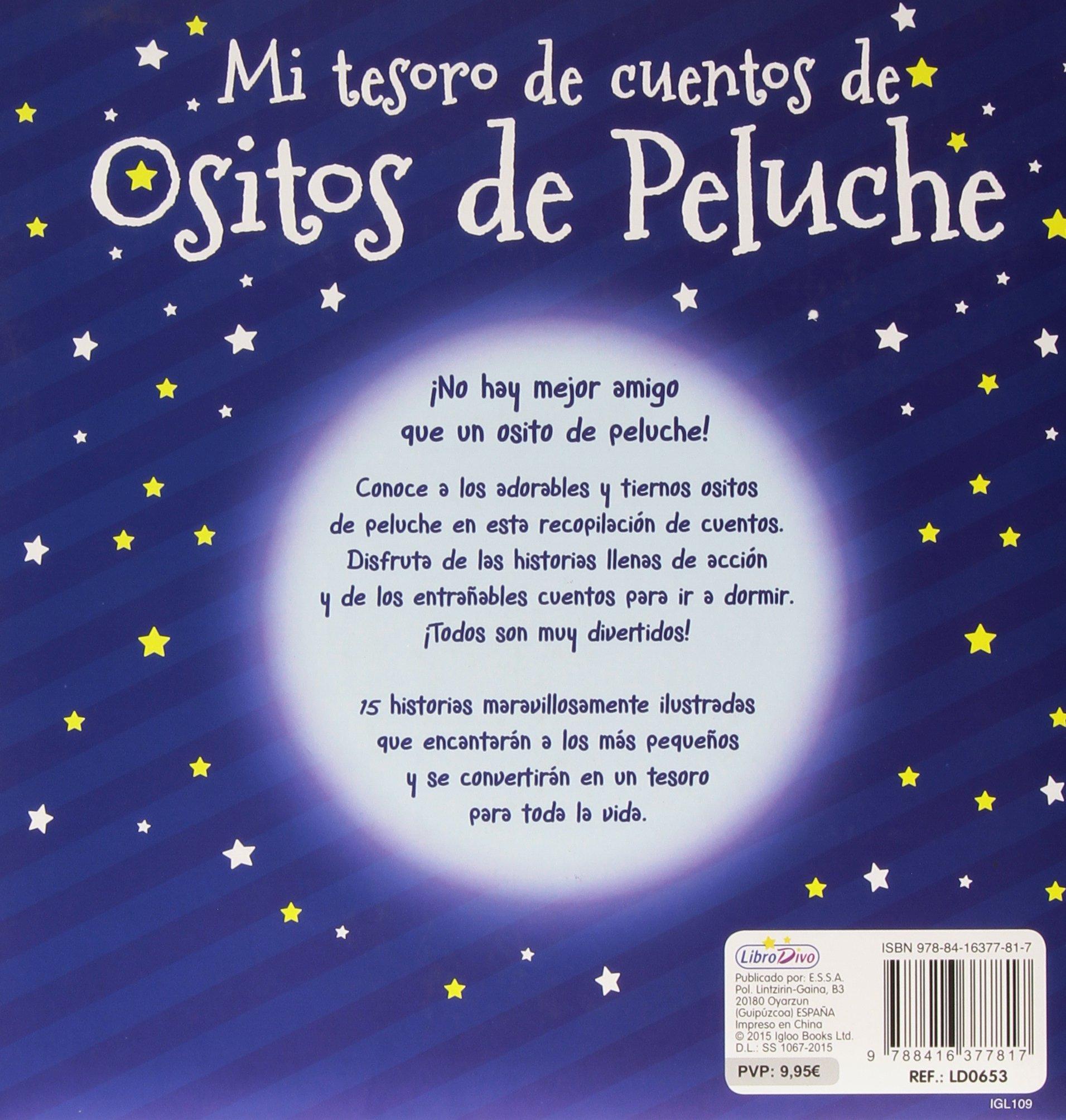 Mi Tesoro De Cuentos De Ositos De Peluche: VV.AA.: 9788416377817: Amazon.com: Books
