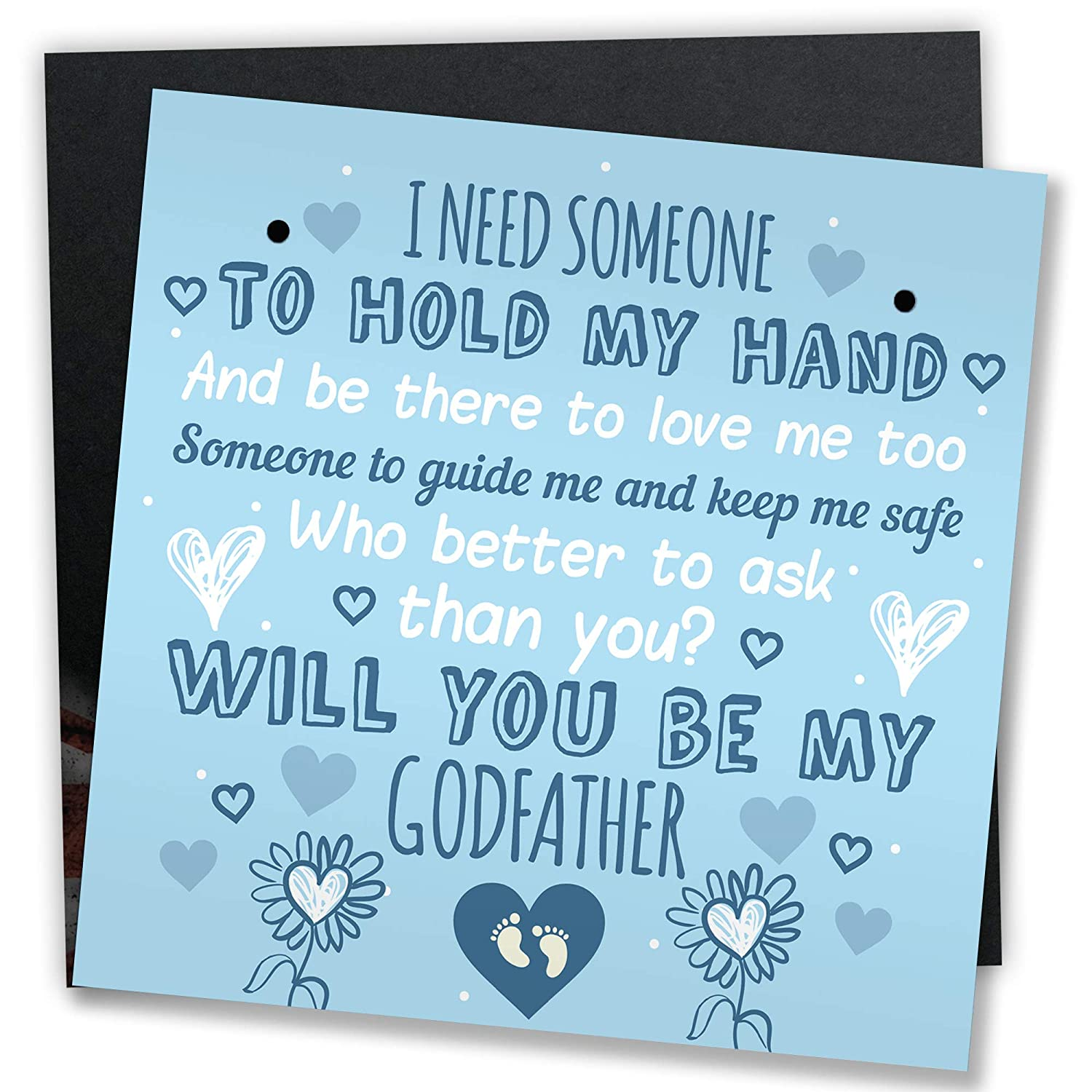 Funny Godmother Card Godfather Will You Be My Godparent Christening Jokes PC529