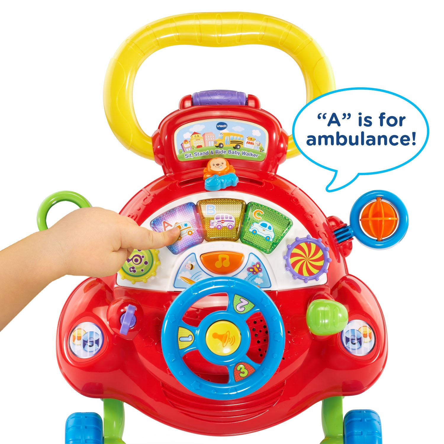 VTech Sit, Stand and Ride Baby Walker (Frustration Free Packaging) (Amazon Exclusive) by VTech (Image #3)