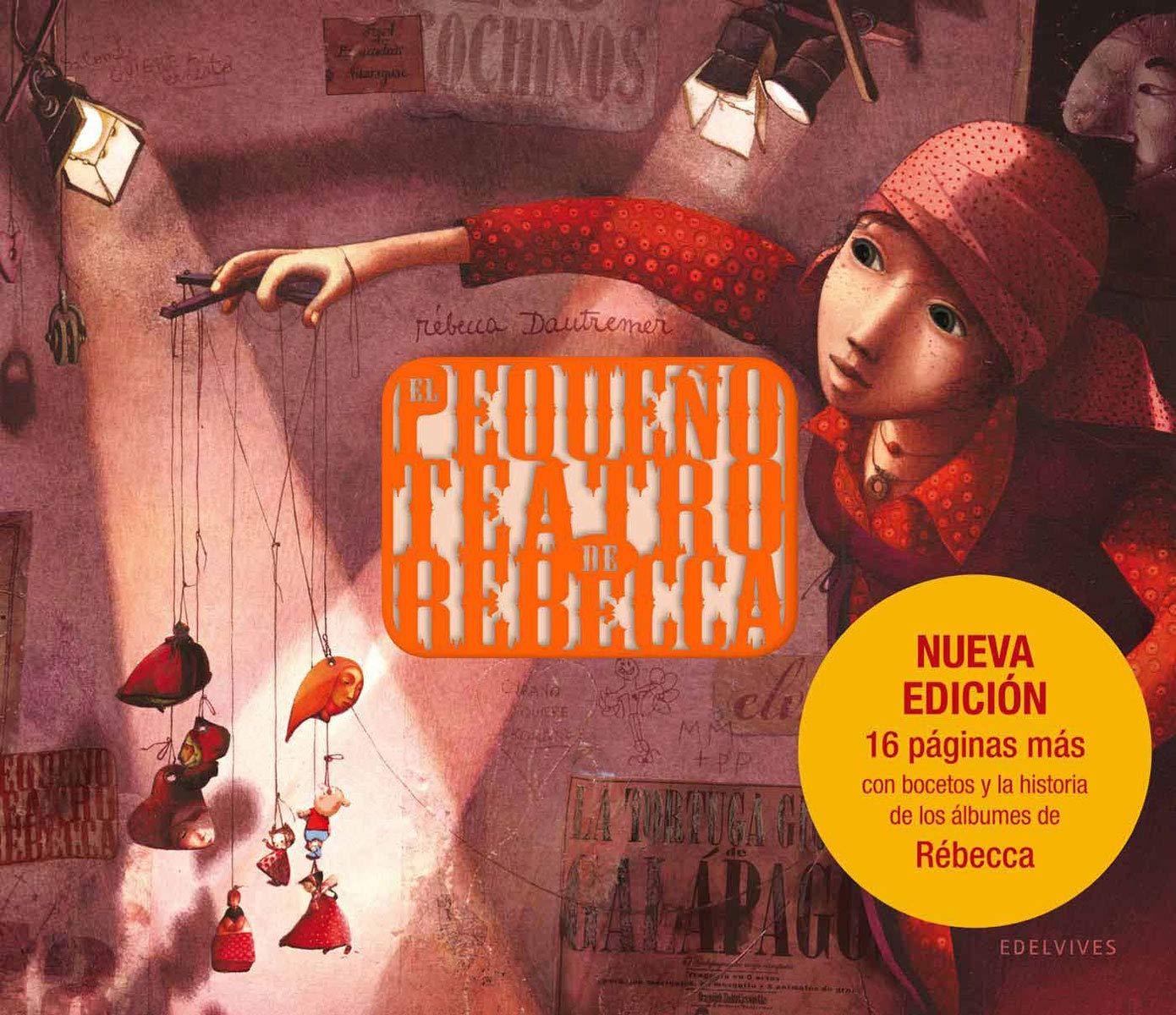 El pequeño teatro de Rébecca (Álbumes ilustrados): Amazon.es ...