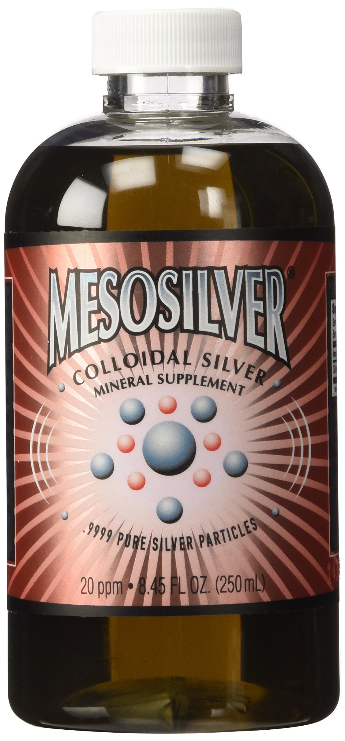 MesoSilver ® 20 ppm Colloidal Silver 250 mL/8.45 Oz by Purest Colloids