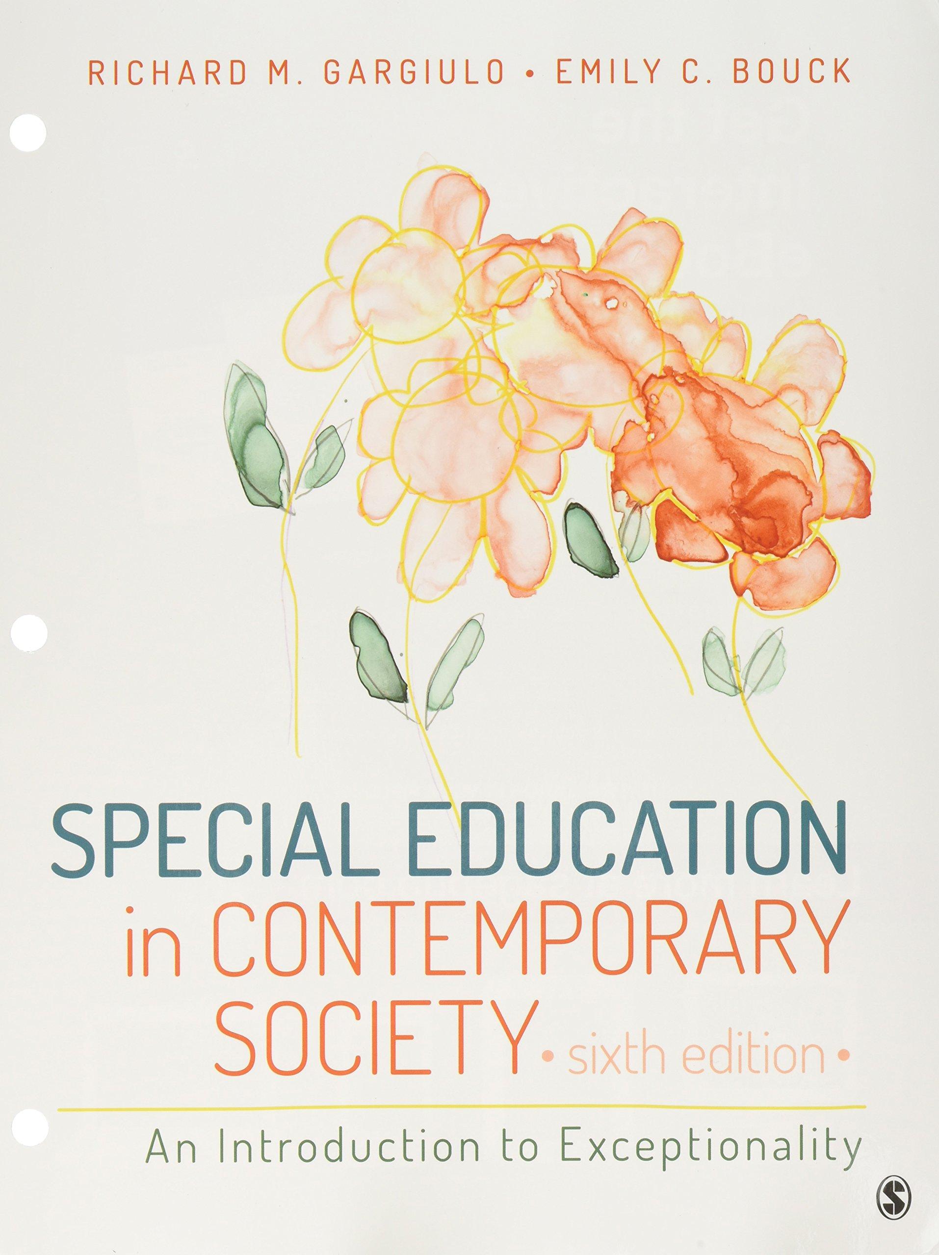 Download BUNDLE: Gargiulo: Special Education in Contemporary Society 6e (Loose Leaf) + Gargiulo: Special Education in Contemporary Society Interactive eBook 6e PDF