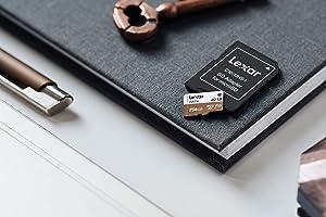 Lexar Professional 667x 128GB microSDXC UHS-I/U3 Card (LSDMI128BNA667A) (Tamaño: 128GB)