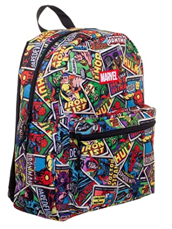 Amazon.com | Marvel Comic 16 Backpack (Multi -2) | Luggage & Travel Gear