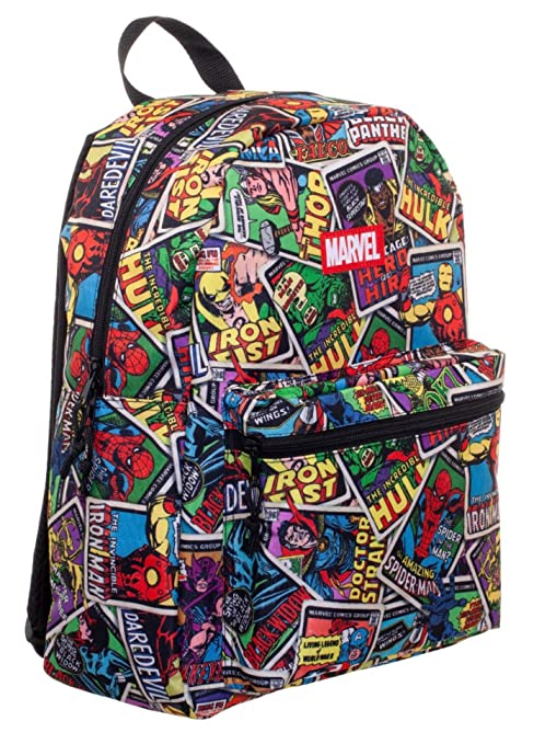 c1504eaed2 Amazon.com | Marvel Comic 16 Backpack (Multi -2) | Luggage & Travel Gear
