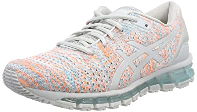 on feet images of cheapest online here ASICS Gel-Quantum 360 Knit 2 Womens Running Trainers T890N ...