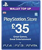 Sony PlayStation Network Card - £35 (PlayStation Vita/PS3)