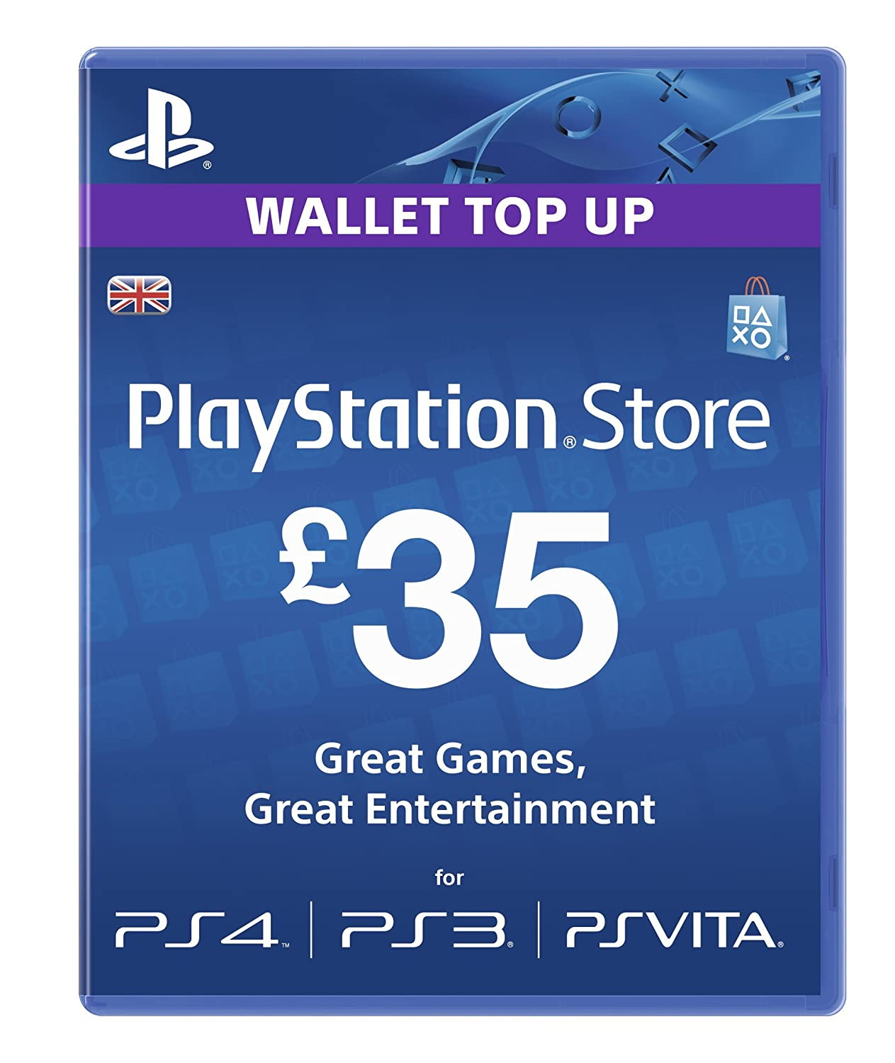 Playstation Network Card - £35 (PlayStation Vita/PS3 ...