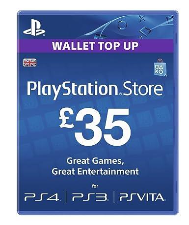 Playstation Network Card - £35 (PlayStation Vita/PS3 ...