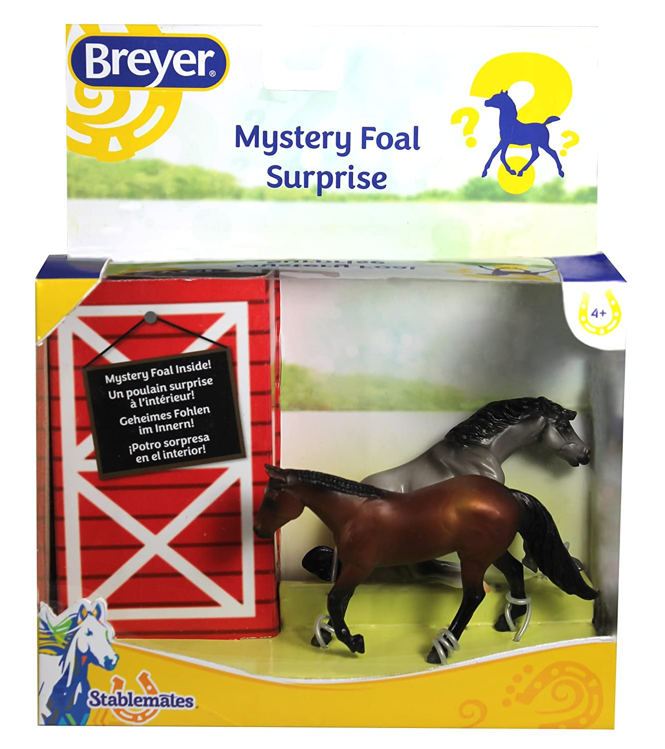 Breyer Mystery Foal Surprise Horse Box Toy Reeves International 5938