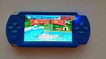 UnisCom V-S515 4 3' 8GB MP3/MP4/MP5 Media Game Player Psp style (TV-Out,FM  Radio,PC Camera,TF Card Supported)