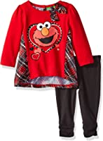 Sesame Street Baby Girls' Elmo 2-Piece Set