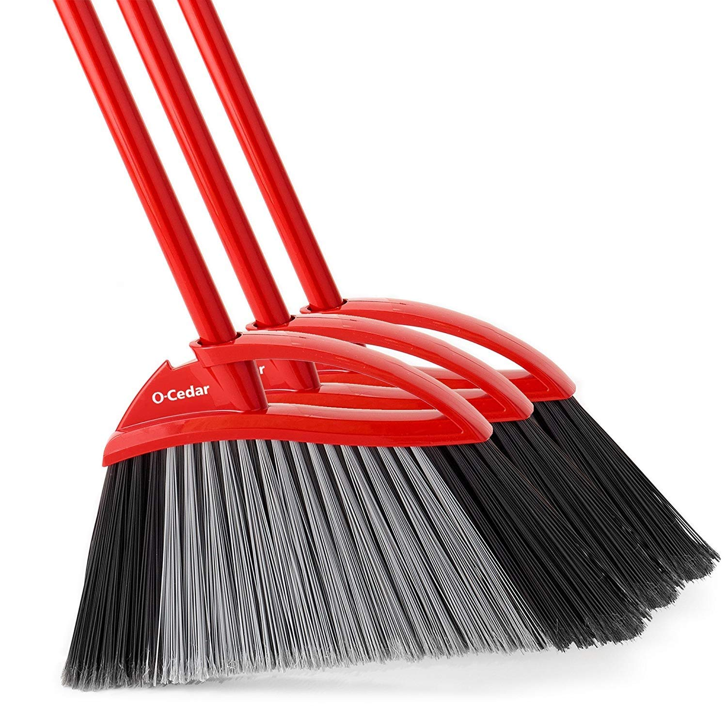 O-Cedar Power Corner Large Angle Broom (Pack of 3) by O-Cedar (Image #1)