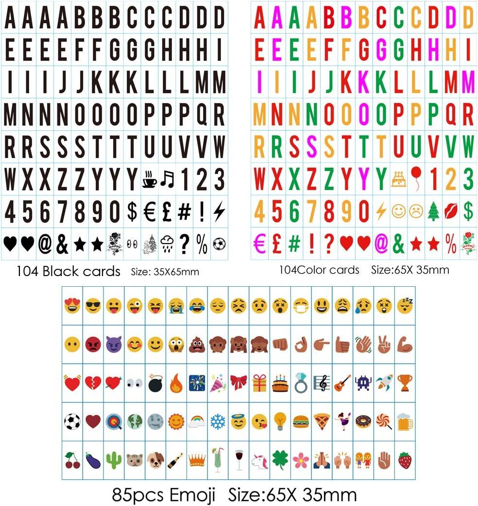 NPW en lumières personnalisé carton lettres kit comprend des lumières DEL