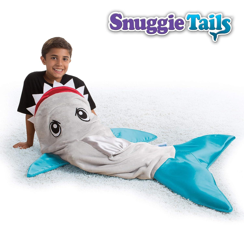 Snuggie Tails Shark Blanket for Kids, Gray 75047347