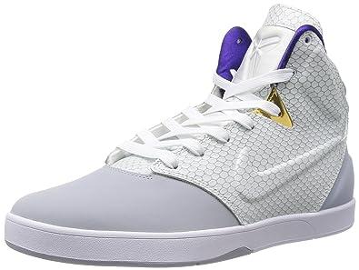 big sale 96c38 06416 Nike Kobe IX NSW Lifestyle (Lakers) Wolf Grey White (11.5)