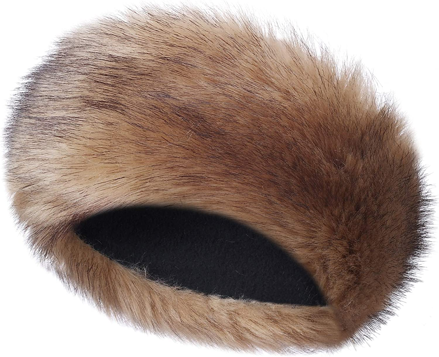 Caracilia Faux Fur Headband...