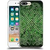 Official Brigid Ashwood Irish Shamrock Celtic Wisdom 3 Soft Gel Case for Apple iPhone 7 Plus / 8 Plus