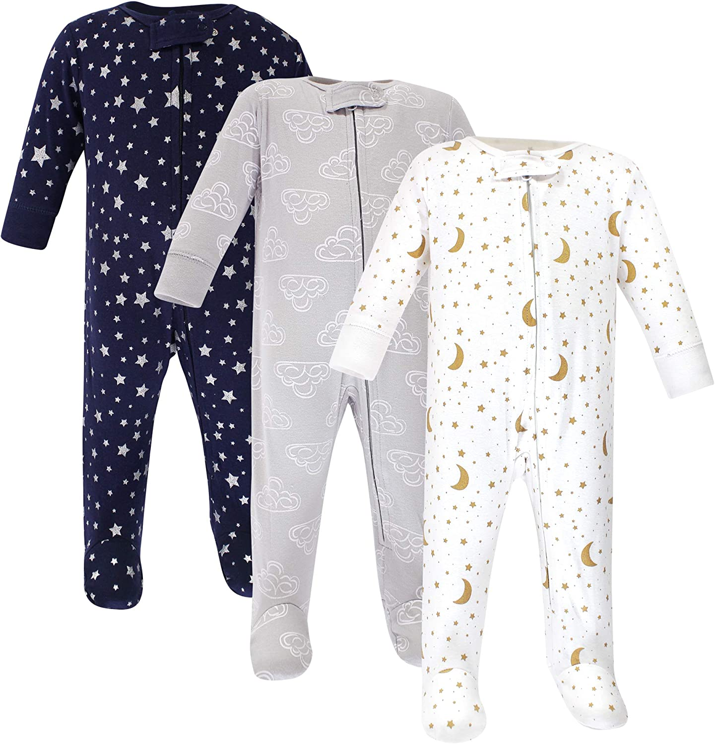 Hudson Baby Unisex Baby Cotton Sleep and Play: Clothing