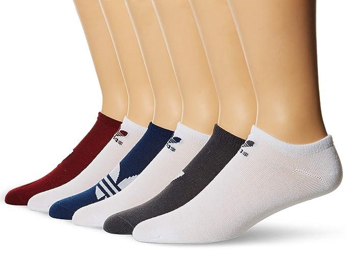 282cd63c57 Amazon.com: adidas Men's Originals Trefoil No Show Socks (6-Pack ...