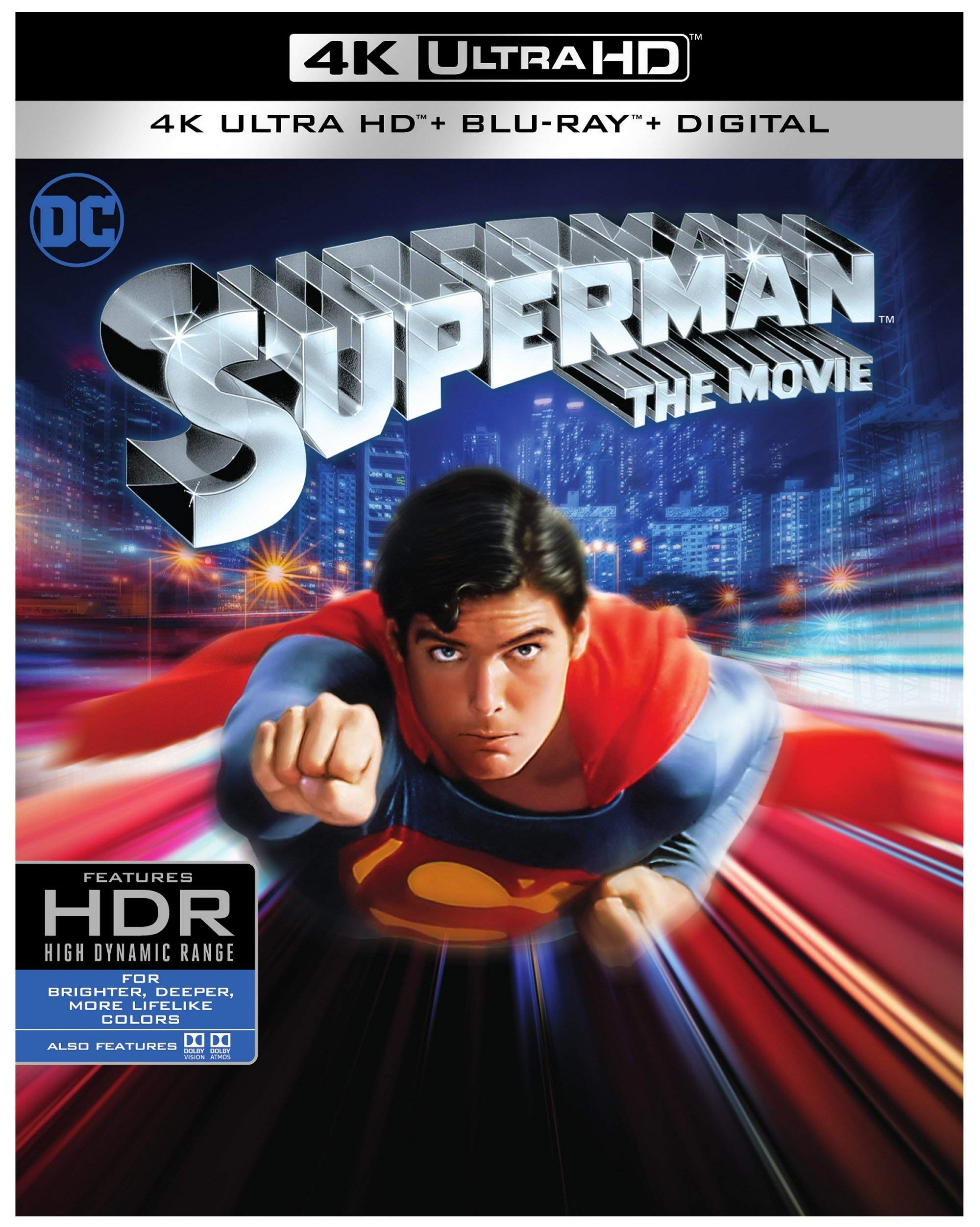 4K Blu-ray : Superman (With Blu-ray, 4K Mastering, Standard Edition, 2 Pack, Digital Theater System)