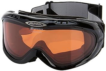 Alpina Colambo Goggles Black Amazoncouk Sports Outdoors - Alpina goggles