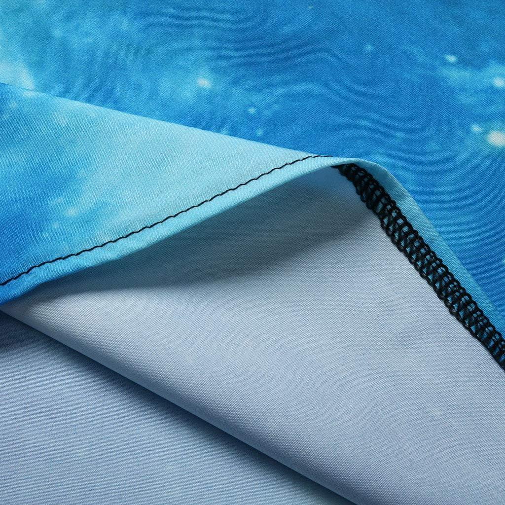 ZHENBAO Womens Tank Mini Dress July 4th American Flag Printed Sleeveless Short T Shirt Dress Blue