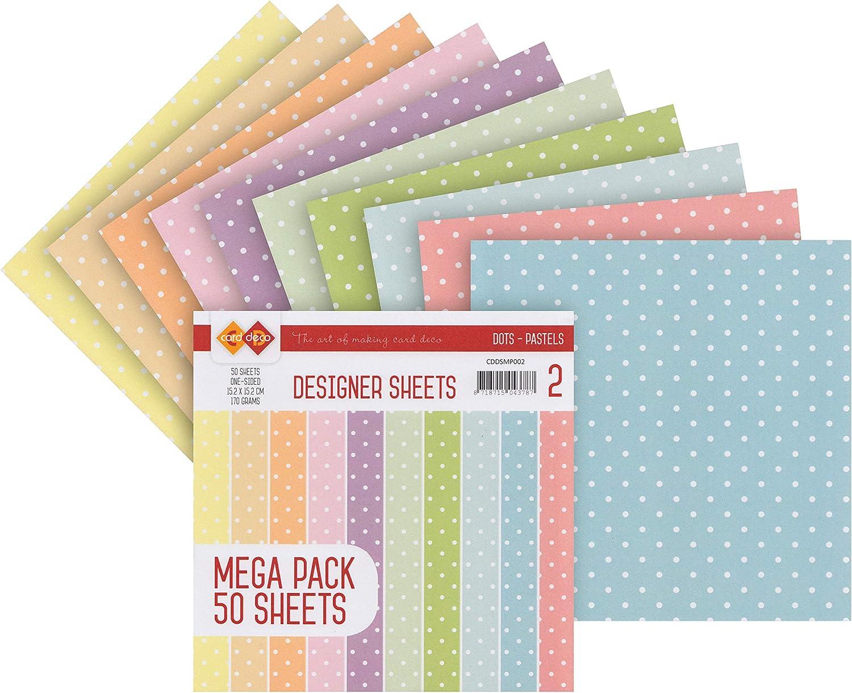 Set de papiers /« Plumetis /» Pastel