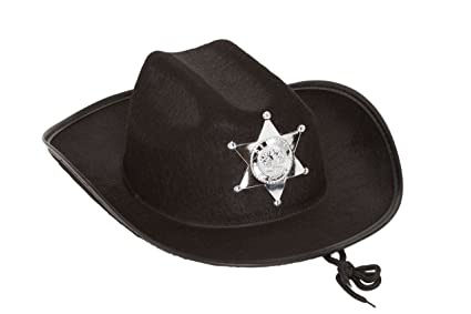 ea492f1ce3e Image Unavailable. Image not available for. Color  Jacobson Hat Company  Child s Felt Sheriff Cowboy Hat