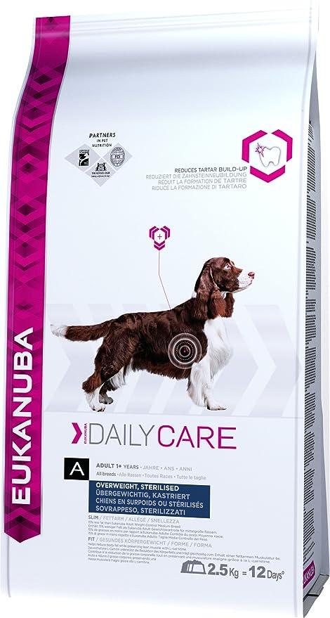 Eukanuba Daily Care Adulto Sobrepeso, Esterilizado [2,5 Kg]